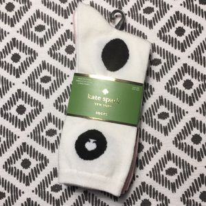 Kate Spade multi patterned crew socks - 3 pk - NWT